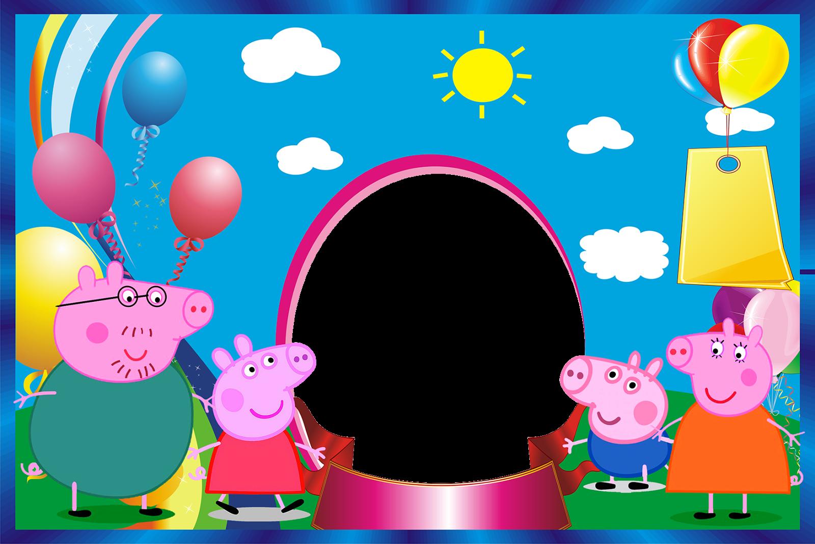 Pepa pig png new calendar template site - Marco de fotos ...