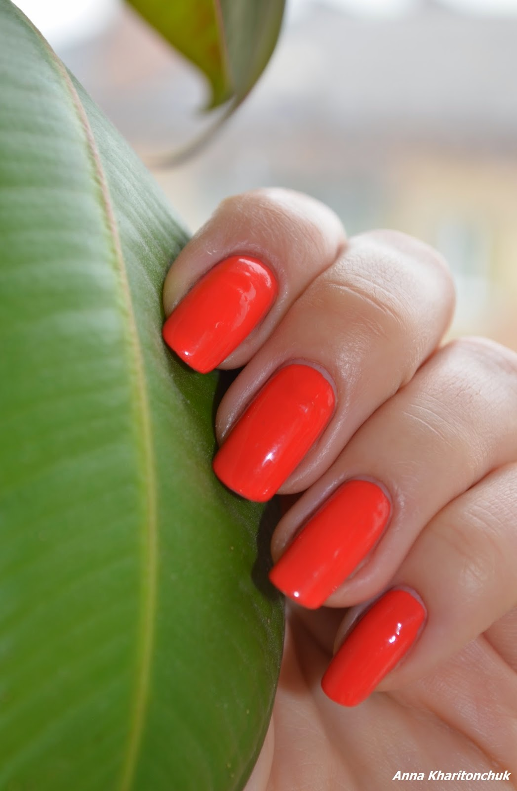 Avon Gel Finich Orange Crush