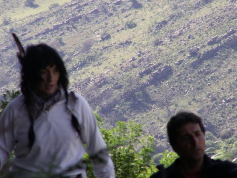 """DESCENSO de una de las montañas de los indios"""" COMECHINGONES"""""""