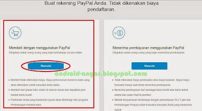 Tips memilih jenis akun PayPal, personal, premier, bisnis?