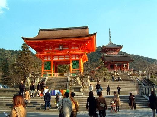 Kiyomizu Temple or Kiyomizu-dera Tokyo, Japan