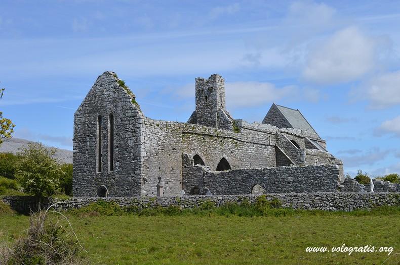 corcomroe abbey da visitare nella contea di clare