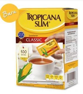 Daftar Harga Tropicana Slim Sweetener - Gula Sehat Untuk Penderita Diabetes