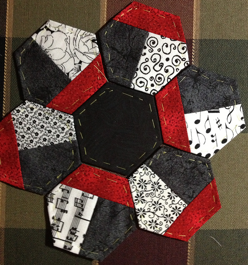 IMG 3522 Pieced Hexies: Guest Post and Two Giveaways!