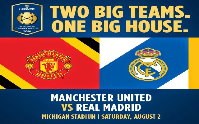Manchester United vs Real Madrid Full Match 2014 | International Champions Cup | HD