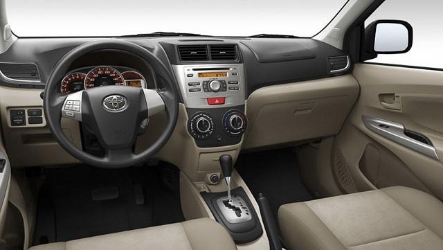 Toyota Avanza 2016 newssilver Interior Cabin