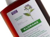 Klorane: šampón na vlasy s chinínom a vitamínmi B