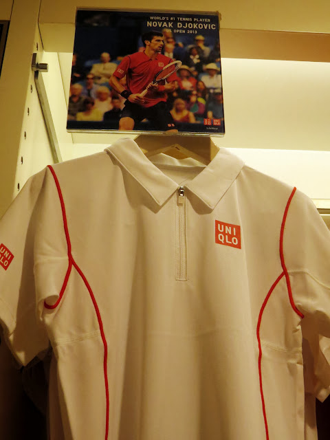 UNIQLO New York Novak Djokovic Collection