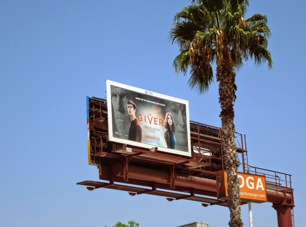 The Giver billboard ad