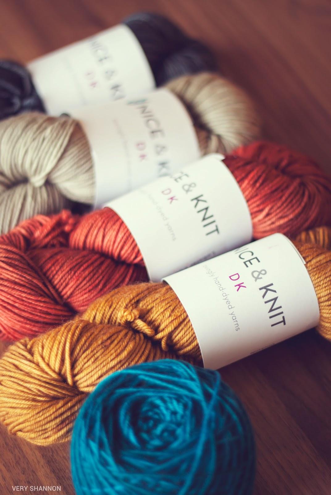 Nice and Knit DK Yarn || VeryShannon.com
