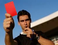 hakem, kırmızı kart