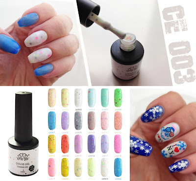 Born Pretty Store Review: Cheese Gel CE 003 LED UV polish