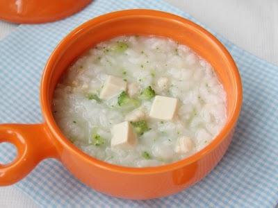Baby porridge recipe baby food ideas baby porridge recipe vegetable tofu and chicken porridge forumfinder Gallery