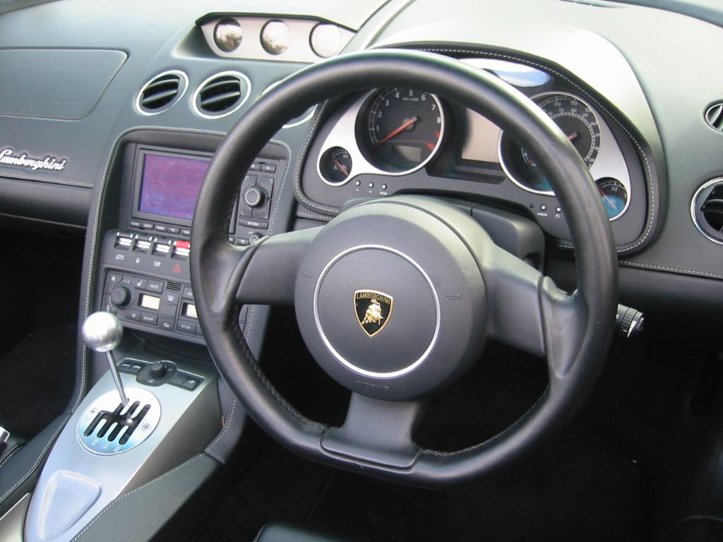 Fast Cars Online Lamborghini Gallardo Spyder Interior