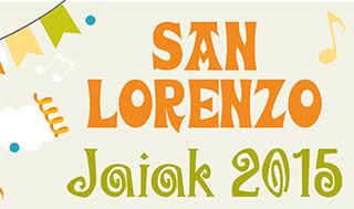San Lorenzoko jaiak Las Karrerasen