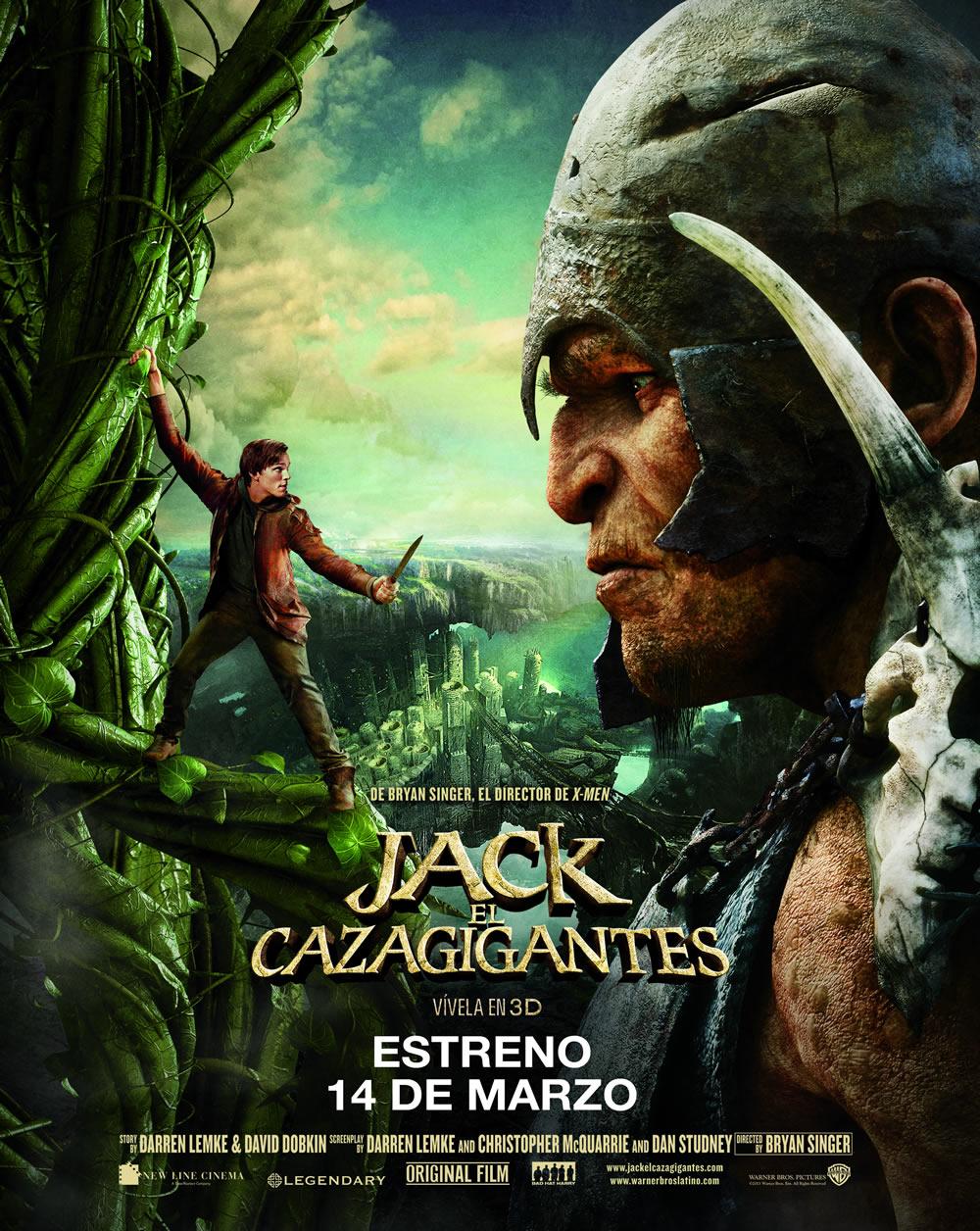 Jack el Cazagigantes [2013] [DvdRip-Avi] [Subtitulada] [1 Link]