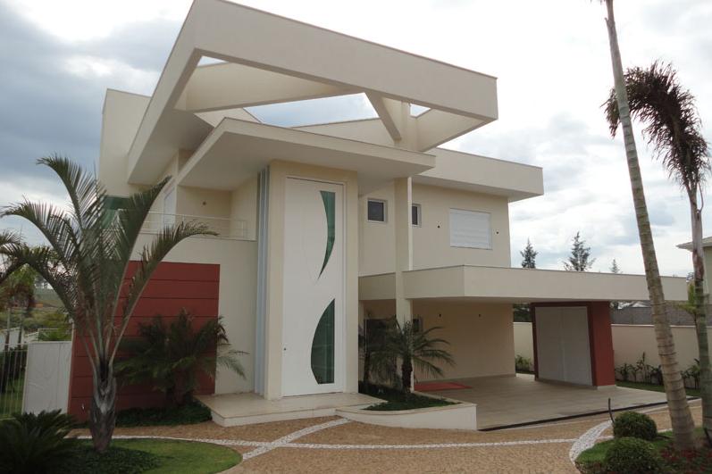 Construindo minha casa clean 25 fachadas de casas ultramodernas esculturais - Entrada de casas modernas ...