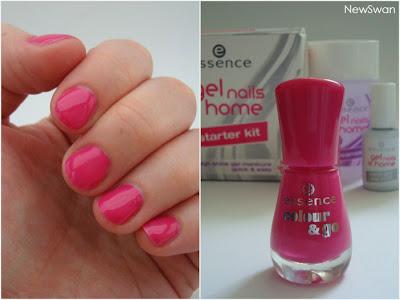 essence - gel nails at home - workshop