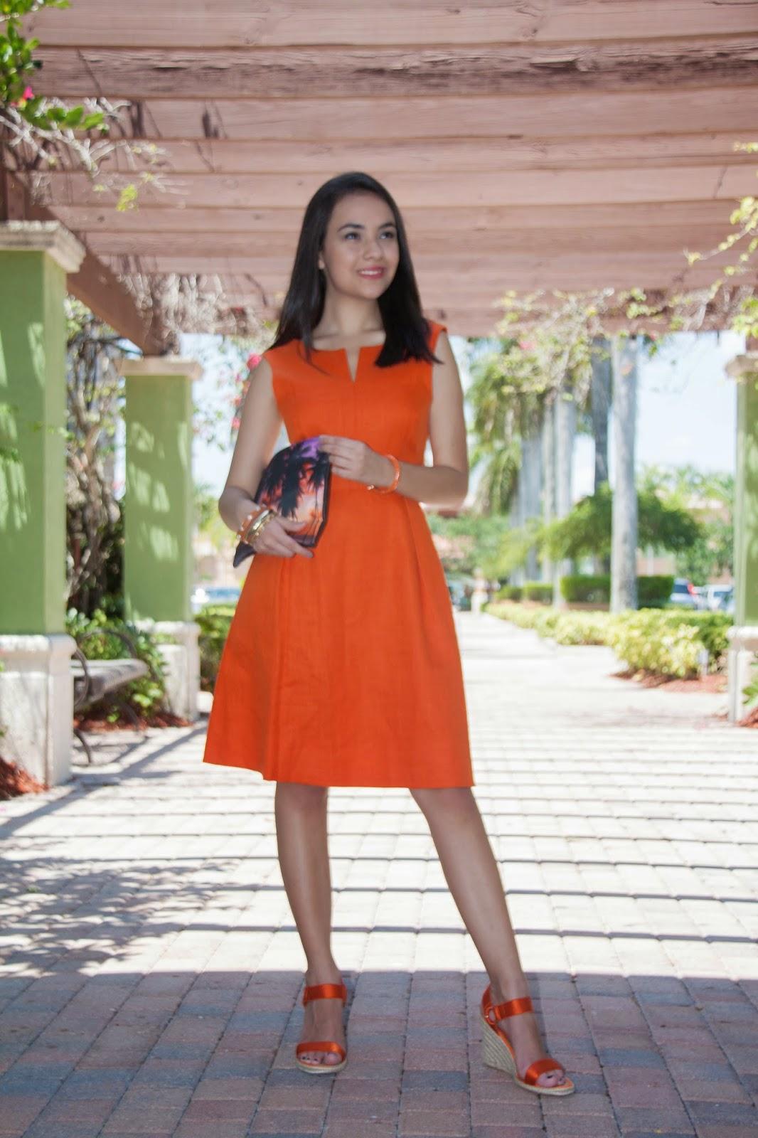 Stylishly In Love: Sunset Orange