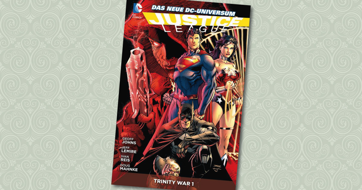 Justice League Trinity War 1 Cover Panini