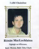 Oglach Ronan McLochlin