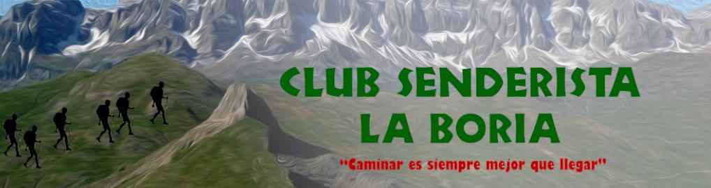 CLUB SENDERISMO LA BORIA