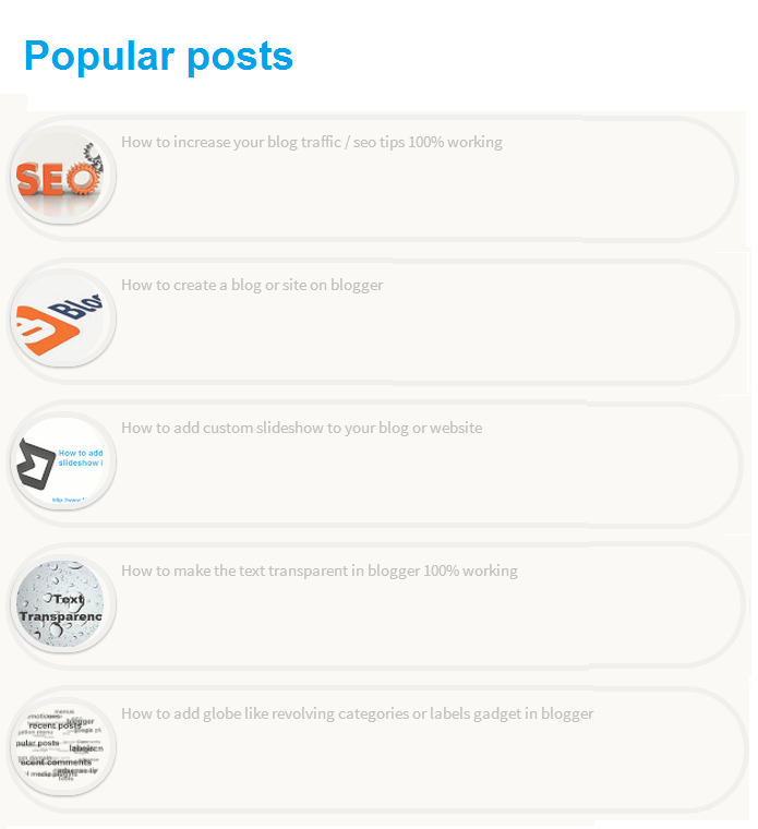 How to add cool popular posts widget to your blog | 101helper