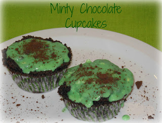 Thin Mint, Girl Scout Cookie Cupcakes