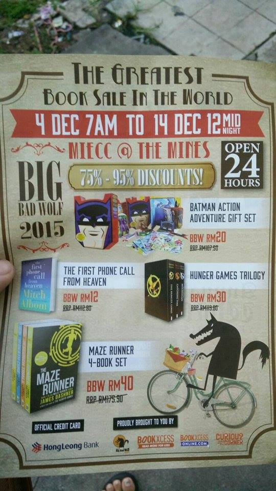 BIG BAD WOLF 2015