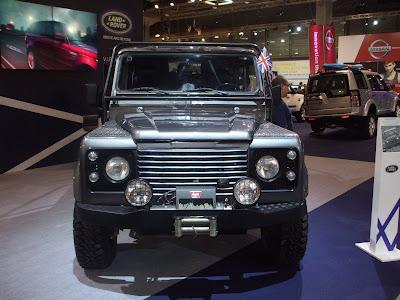 Land Rover Defender from Skyfall מכוניות מהסרטים בישראל