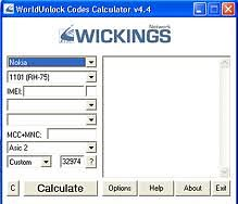  WorldUnlock Codes Calculator 4.4    