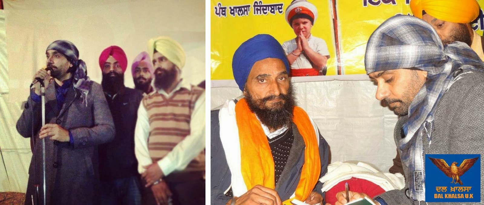 Diljit Dosanjh With His Real Wife Babbu maan supports bhai