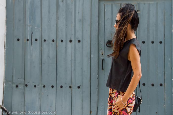 BLogger valenciana de moda con tendencia pantalones culottes