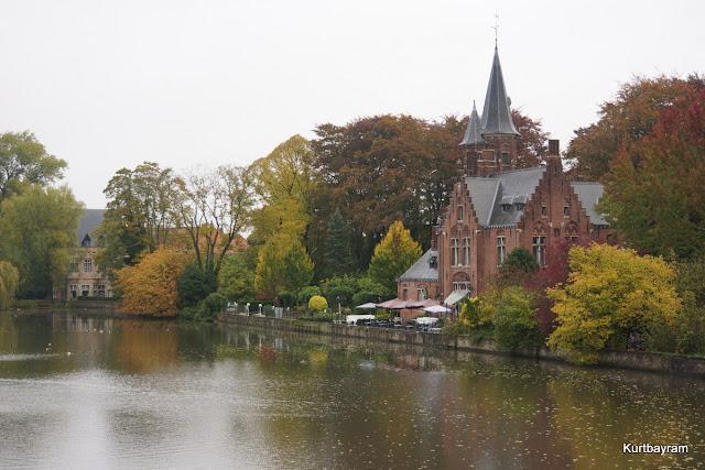 Belçika'nın Brugge-Bruges-Brügge yani Brüj kenti