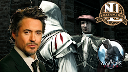 "Robert Downey Jr pode ser ""Da Vinci"" no filme Assassin's Creed"