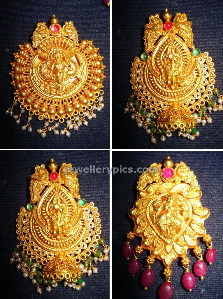 temple gold pendent collection