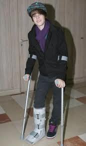 broken foot and more hes hot JB