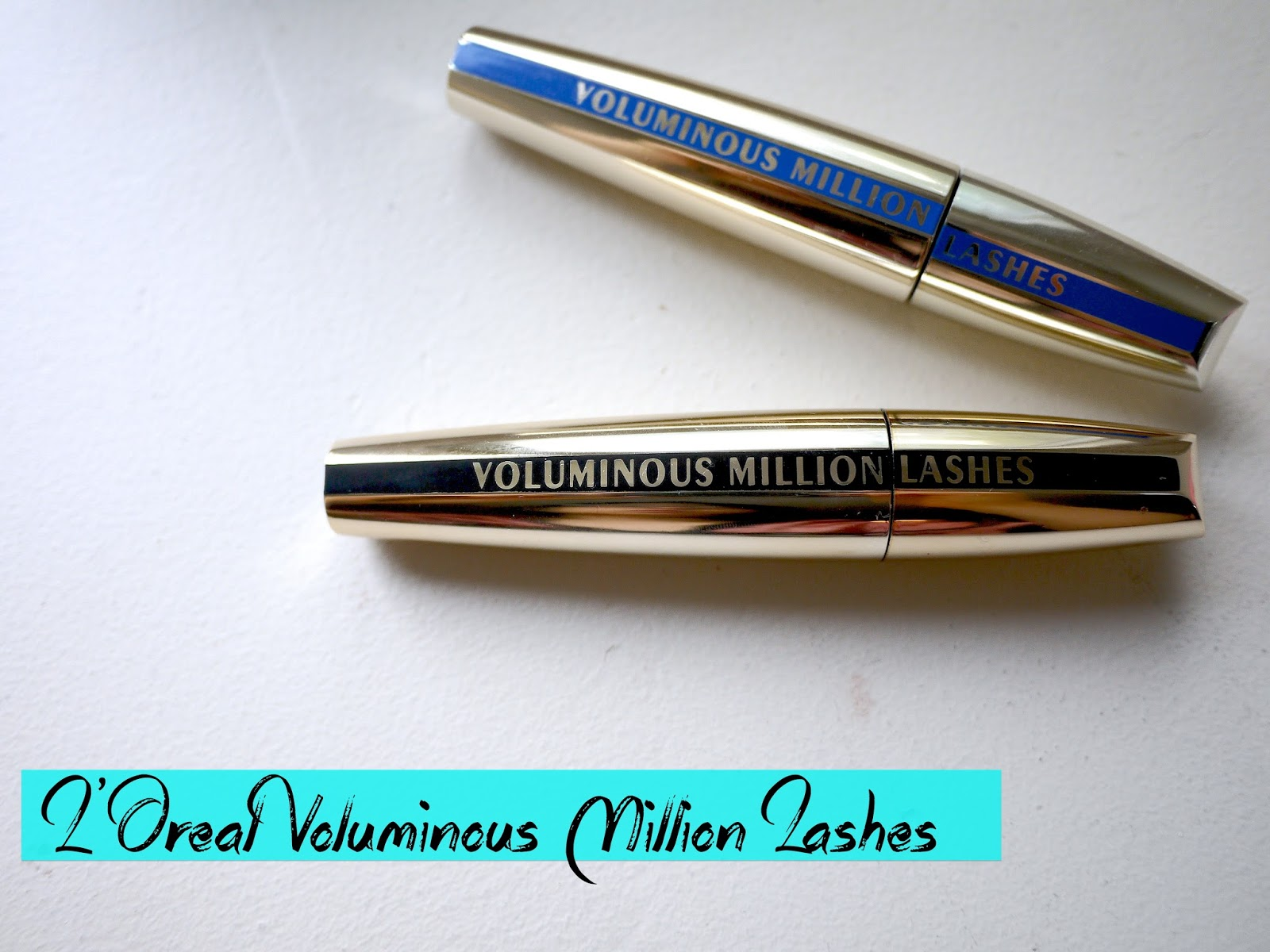 L'Oreal Voluminous Million Lashes waterproof review carbon black