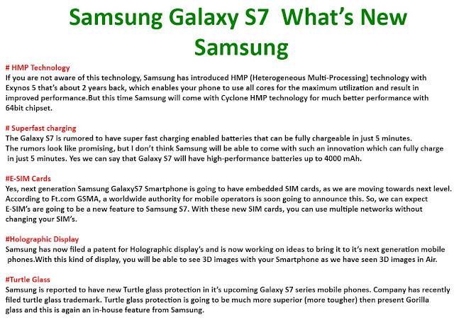 Samsung Galaxy S7 Edge Feature