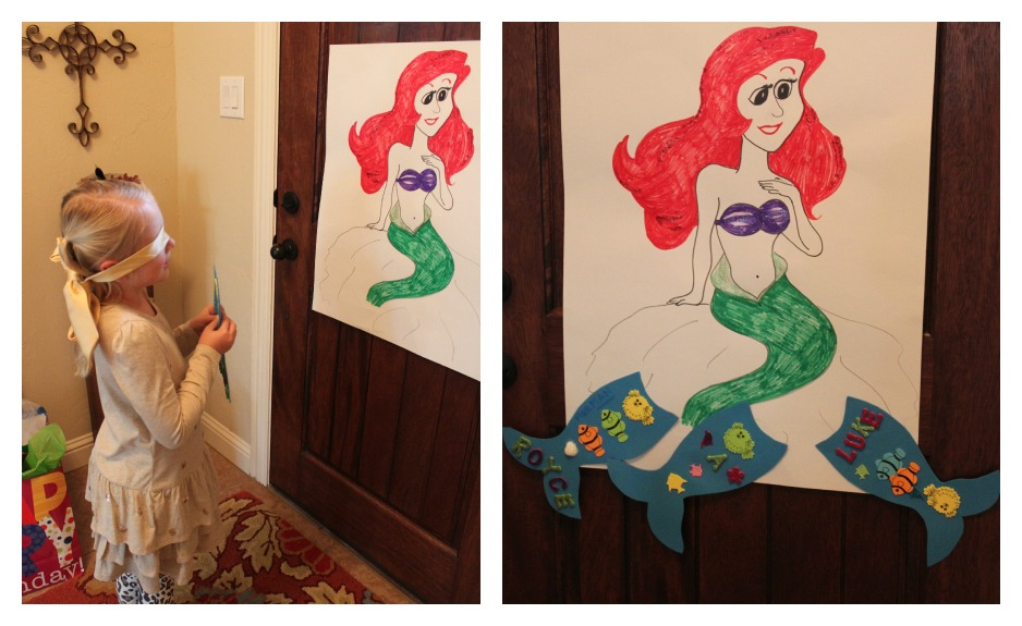 Crafty Texas Girls: Real Parties: Little Mermaid Birthday