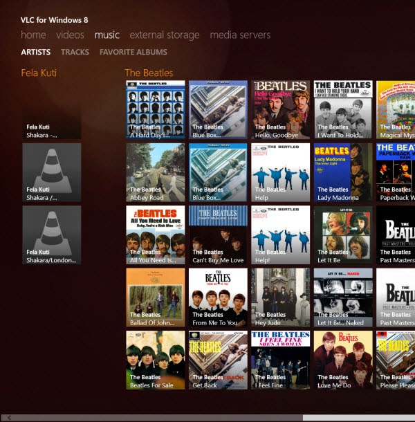 Watch DVDs in Windows 8 using VLC Media Player