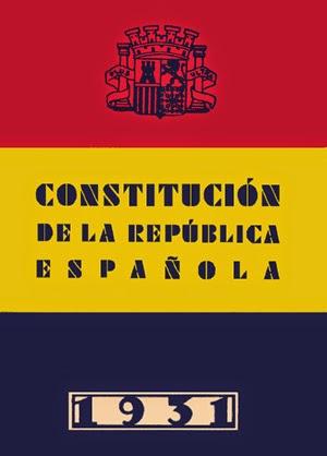 DESCÁRGATE LA CONSTITUCIÓN DE LA SEGUNDA REPÚBLICA