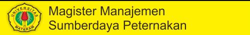 Magister Peternakan | Universitas Mataram