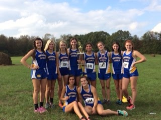 Montgomery Catholic's Cross Country Team Finishes the Season Strong 1
