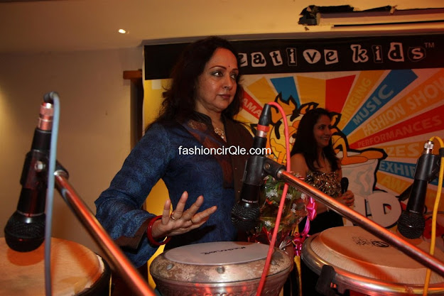 Hema Malini at Raheja Classic Summer Camp