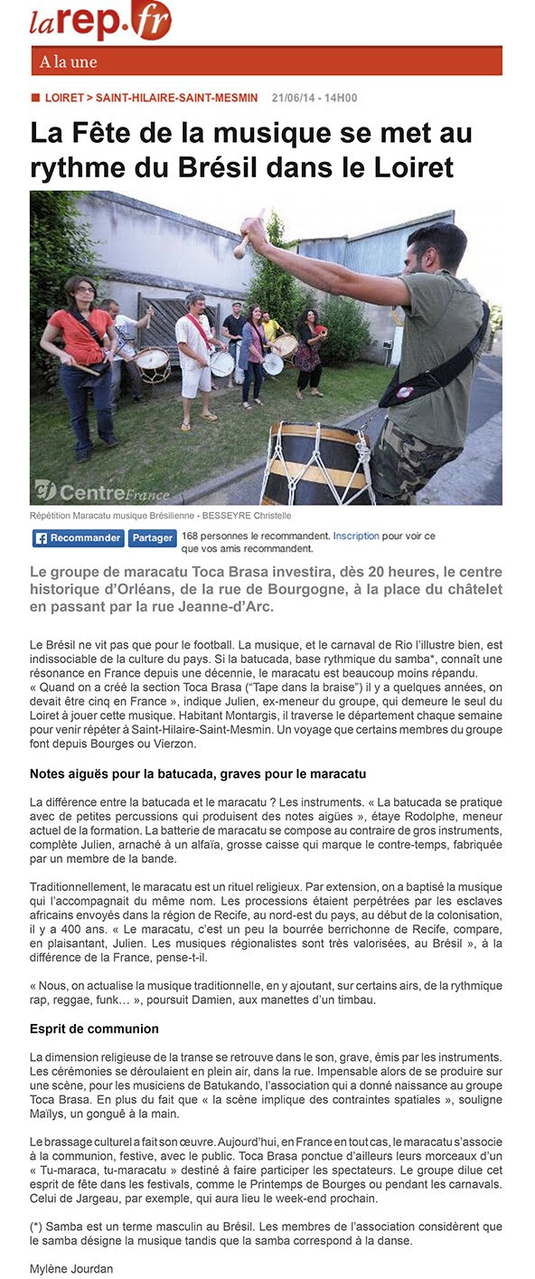 article la rép juin 2014
