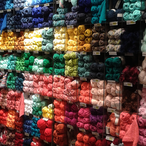 Yarn, Luxembourg City | Happy in Red