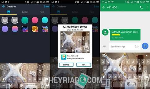 Ganti Tampilan Skin Keyboard Android Dengan Foto Sendiri
