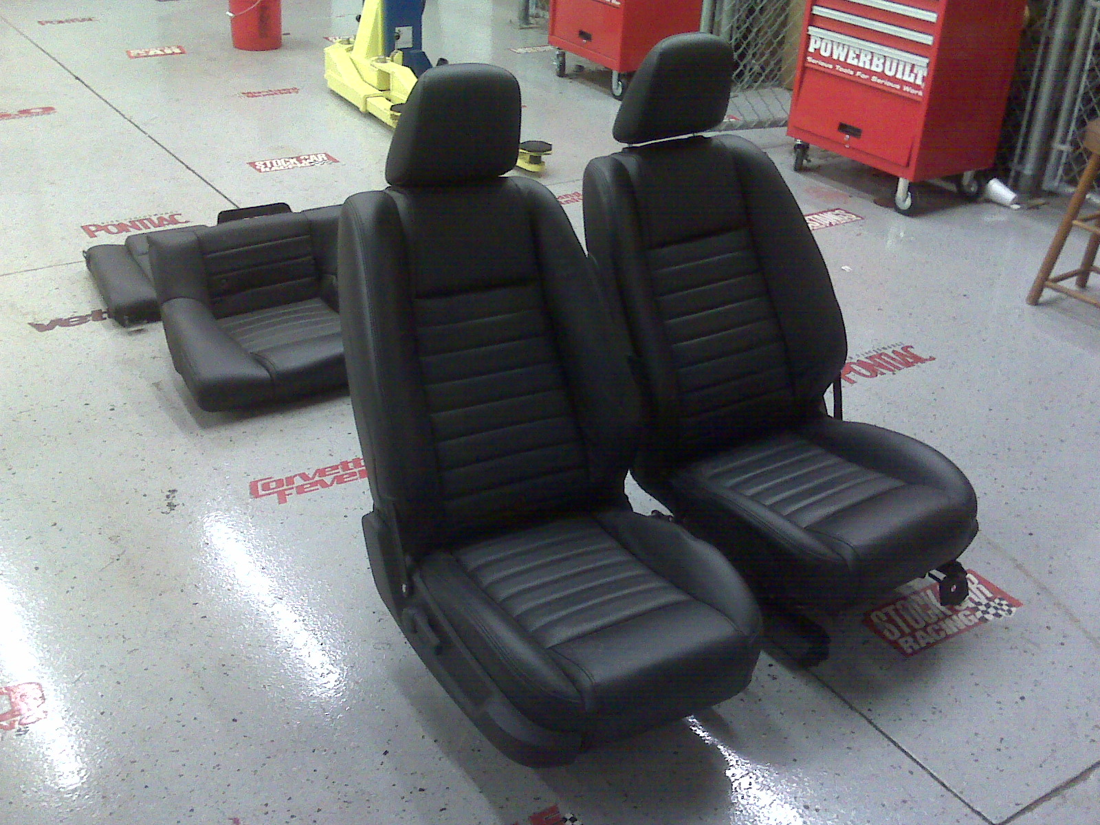 new cars mbah mustang seats