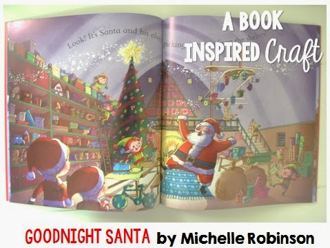 Goodnight Santa: A Christmas Book Inspired Craft